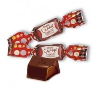 Lingottini al Cioccolato Fondente ripieni al Caffè