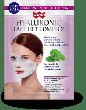 Maschera rigenerante notte – effetto seta