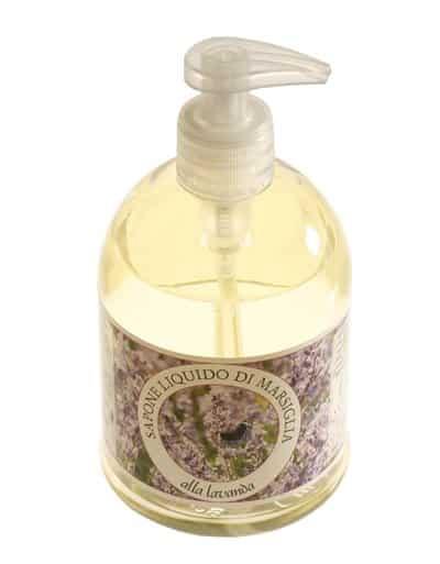 """Detergente liquido """"Sapone di marsiglia"""" con olio essenziale di Lavanda"""