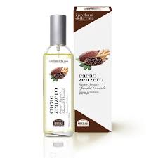 spray cacao e zenzero