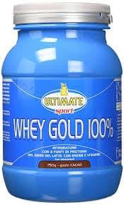 Proteine Whey gold 100%