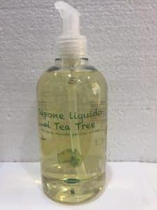 Sapone liquido al Tea Tree Oil