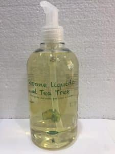sapone liquido tea tree